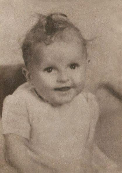 1940's Baby Restored