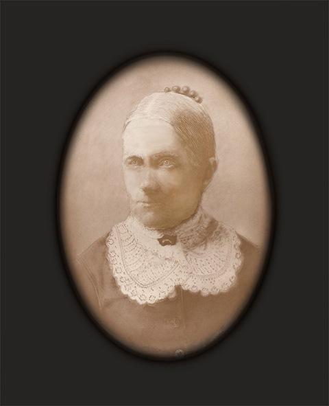 Elvira Tubbs Restored and Framed