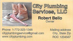 City Plumbing Services